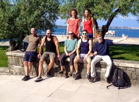 Ankunft Sommercamp